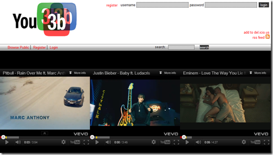 You3b - Watch Multiple YouTube Videos Simultaneously