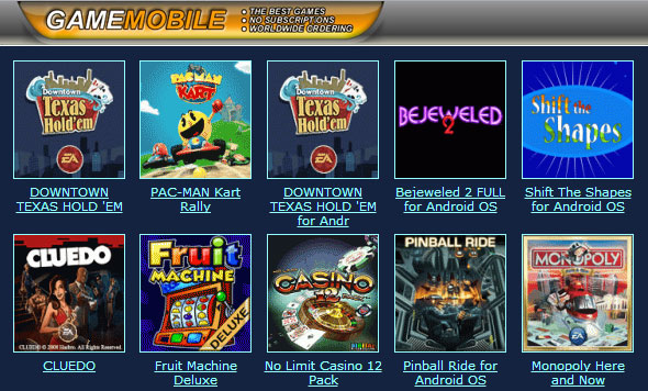 websites to download games for android phones
