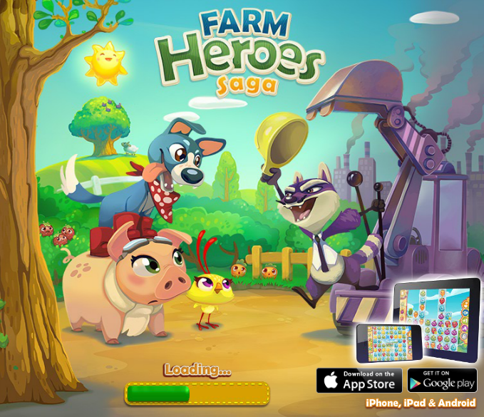 Farm Heroes Saga - Top 10 Facebook Games