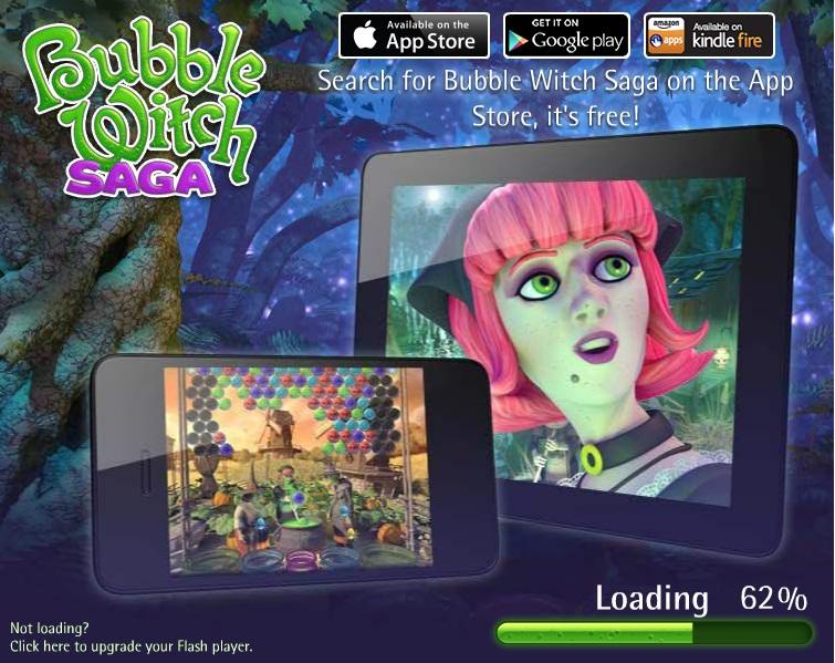 Bubble Witch Saga - Top 10 Facebook Games