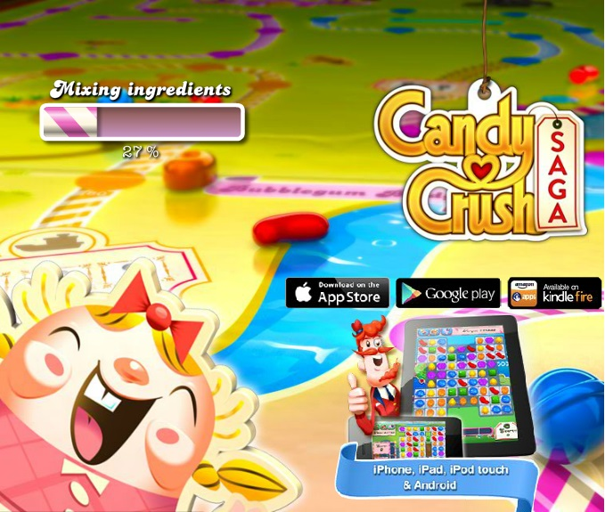 Candy Crush Saga - Top 10 Facebook Games