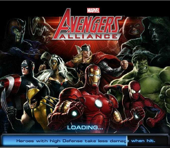 Marvel Avenger Alliance - Top 10 Facebook Games