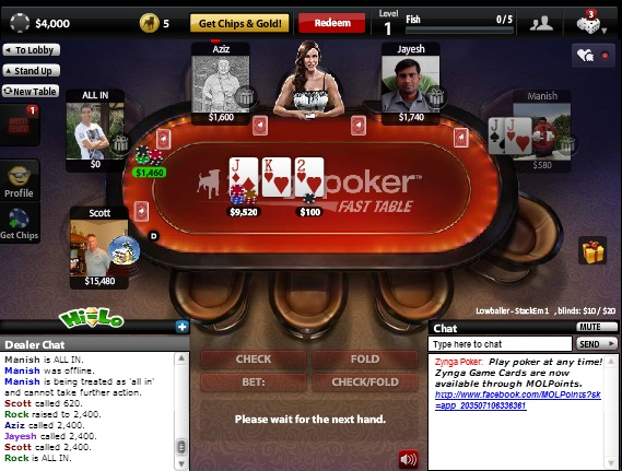 Texas HoldEm Poker - Top 10 Facebook Games