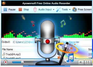 Apowersoft - Free Online Audio Recorder