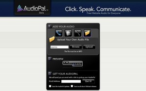 Audiopal - Free Online Voice Recorder
