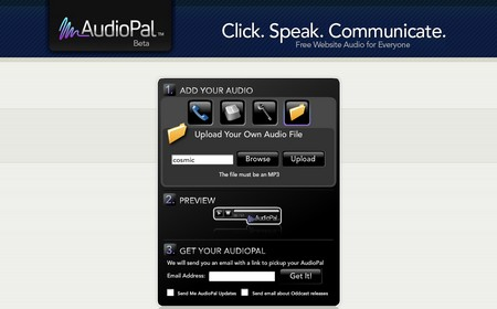 Audiopal - Free Online Voice Recorder