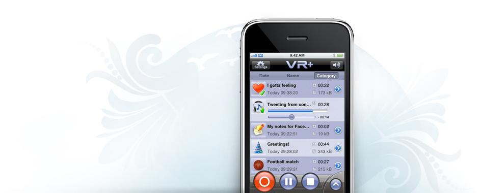 VR+ Voice Recorder - Free Online Voice Recorder