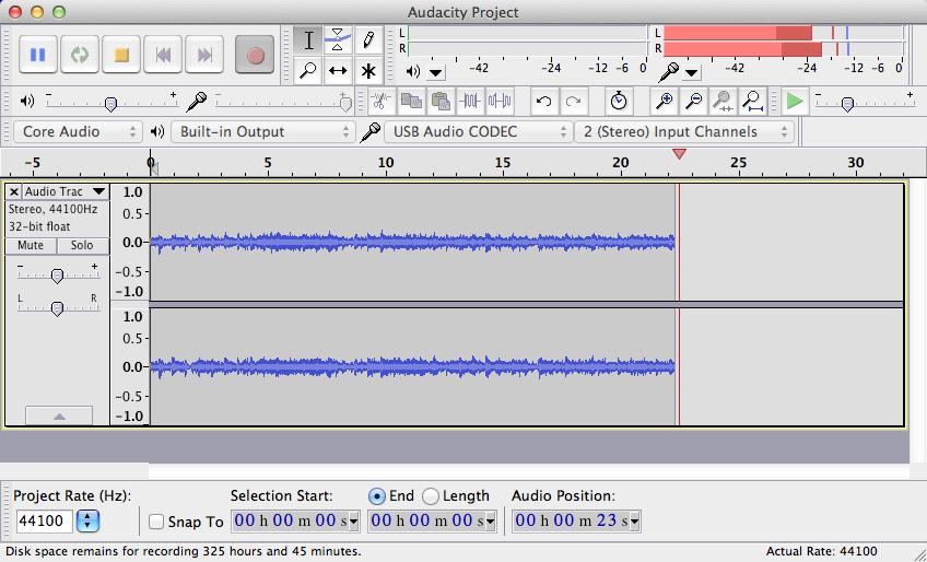 audacity - Free Online Voice Recorder