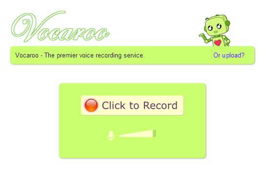 vocaroo - Free Online Voice Recorder