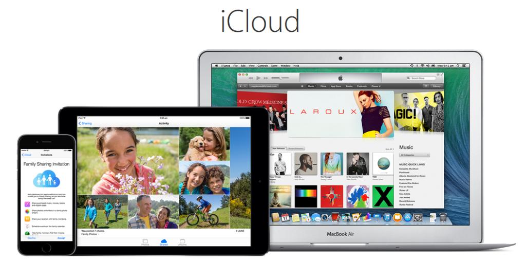 Apple iCloud-Best Cloud Storage Services like Google Drive
