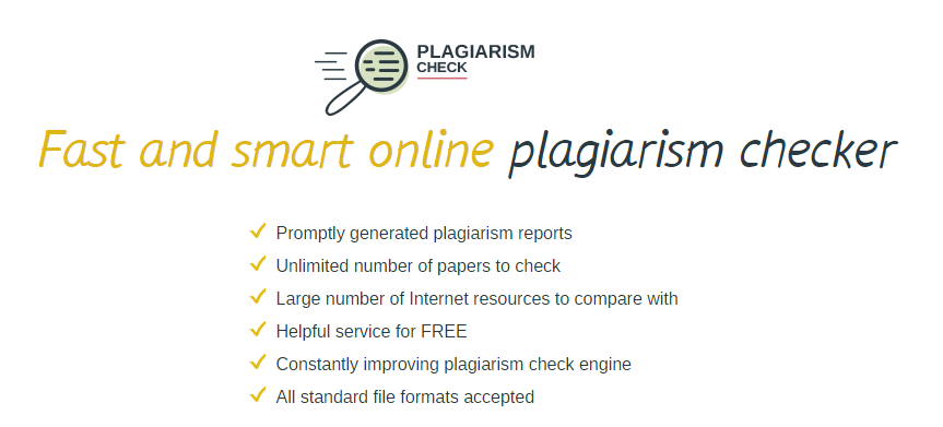checking research papers plagiarism When reading a plagiarized research paper turned in by a student, the signs of plagiarism may not always be obvious however also, the sources used for the paper may need to be checked for currency examples of detection software include wcopyfind and eve2: the essay verification engine (google directory).