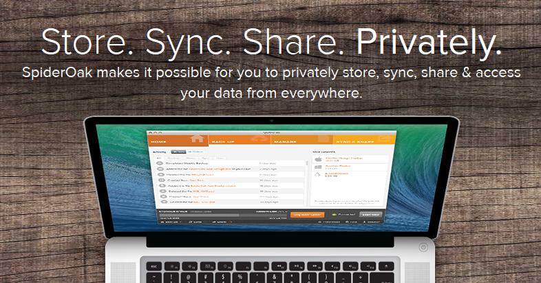 SpiderOak-Best Cloud Storage Services like Google Drive