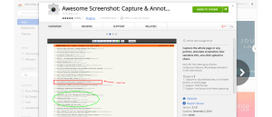 Awesome Screenshot-Best Browser Extensions for Social Media Marketers