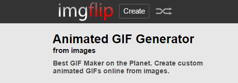 Imgflip-Best Tools to Create Animated GIF Online for Free