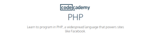 PHP Codecademy - Best Websites to Learn PHP Programming Language online