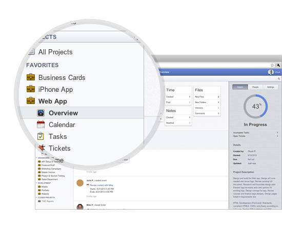 projecturf - Project management software online