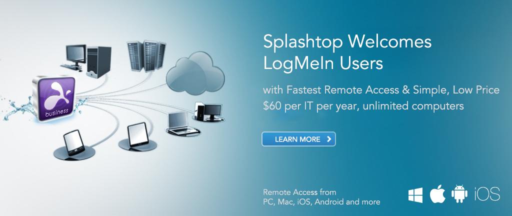 Splashtop-Top 10 Software to Share Desktop Screen Remotely