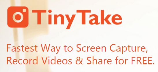 TinyTake-Best Free Screen Recording Software