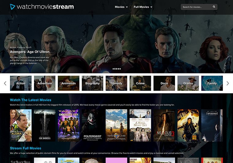 watchmoviestream-Top Websites to Watch TV Shows & Movies Online For Free