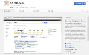 ChromeVox-Best Chrome Extensions for Developers