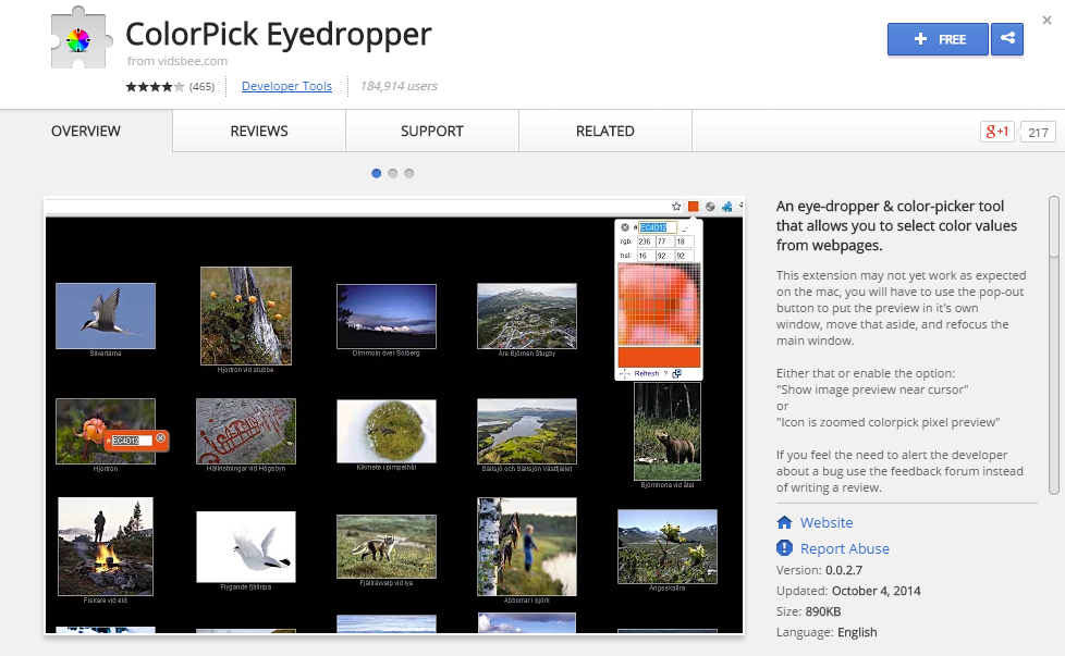 ColorPick Eyedropper-Best Chrome Extensions for Developers