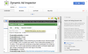 Dynamic Ad Inspector-Best Chrome Extensions for Developers