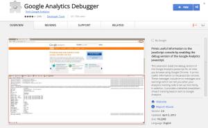 Google Analytics Debugger-Best Chrome Extensions for Developers