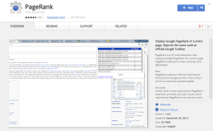 PageRank-Best Chrome Extensions for Developers