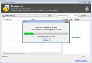 Recuva - Top Free Software Tools to Recover Deleted Data or Files