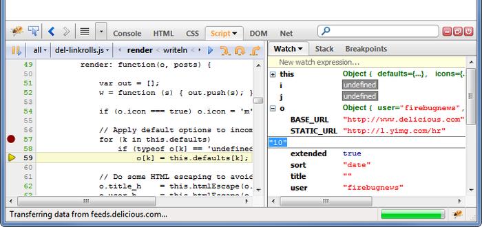 web-developer--Best Mozilla Firefox Addons for Developers