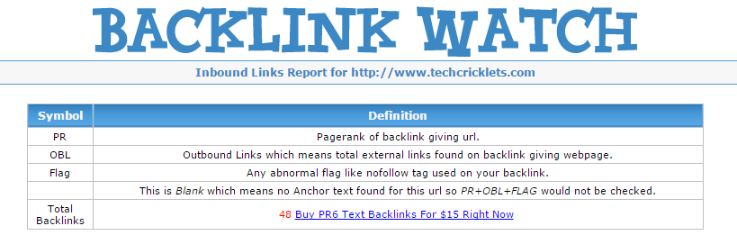 Backlink Watch-Best Free Online Backlink Checker Tools