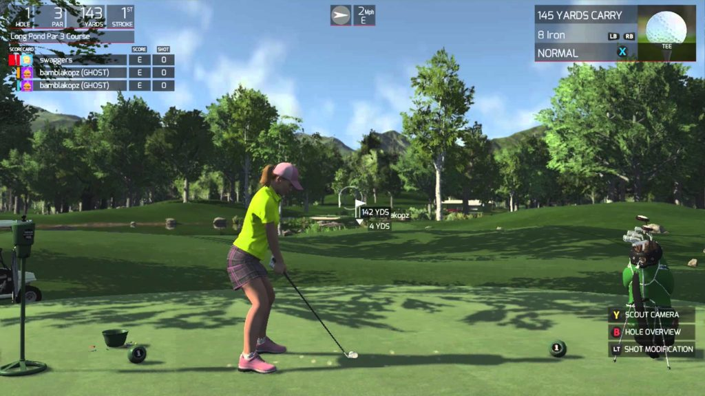 the golf club-List of Stress Free Games that One Should Play