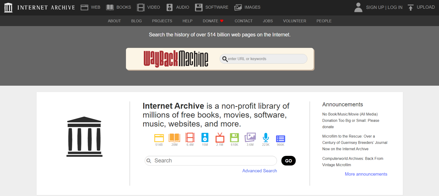 Internet-Archive-Best Legal and Free Music Download Sites