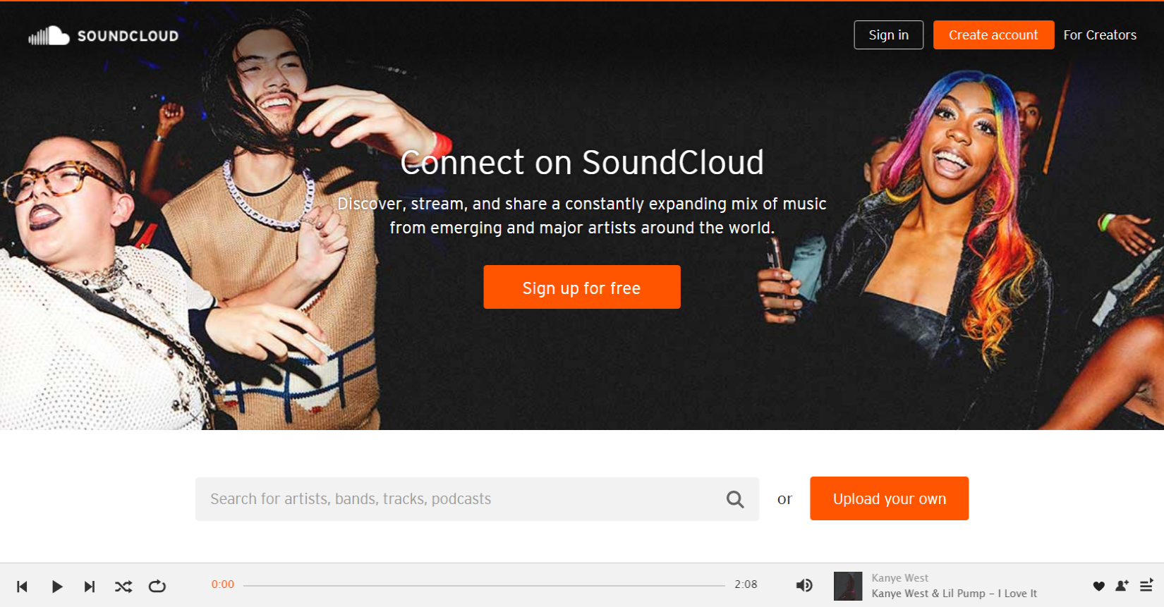 SoundCloud-–-Listen-Legal and Free Music Download Sites