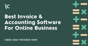 Best Invoice & Accounting Software For Online Business