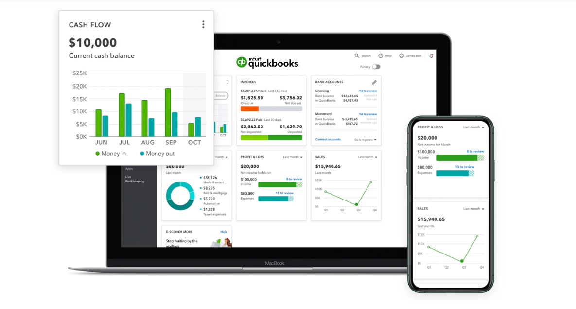 Intuit-QuickBooks-raise your invoice online for free by techcricklets