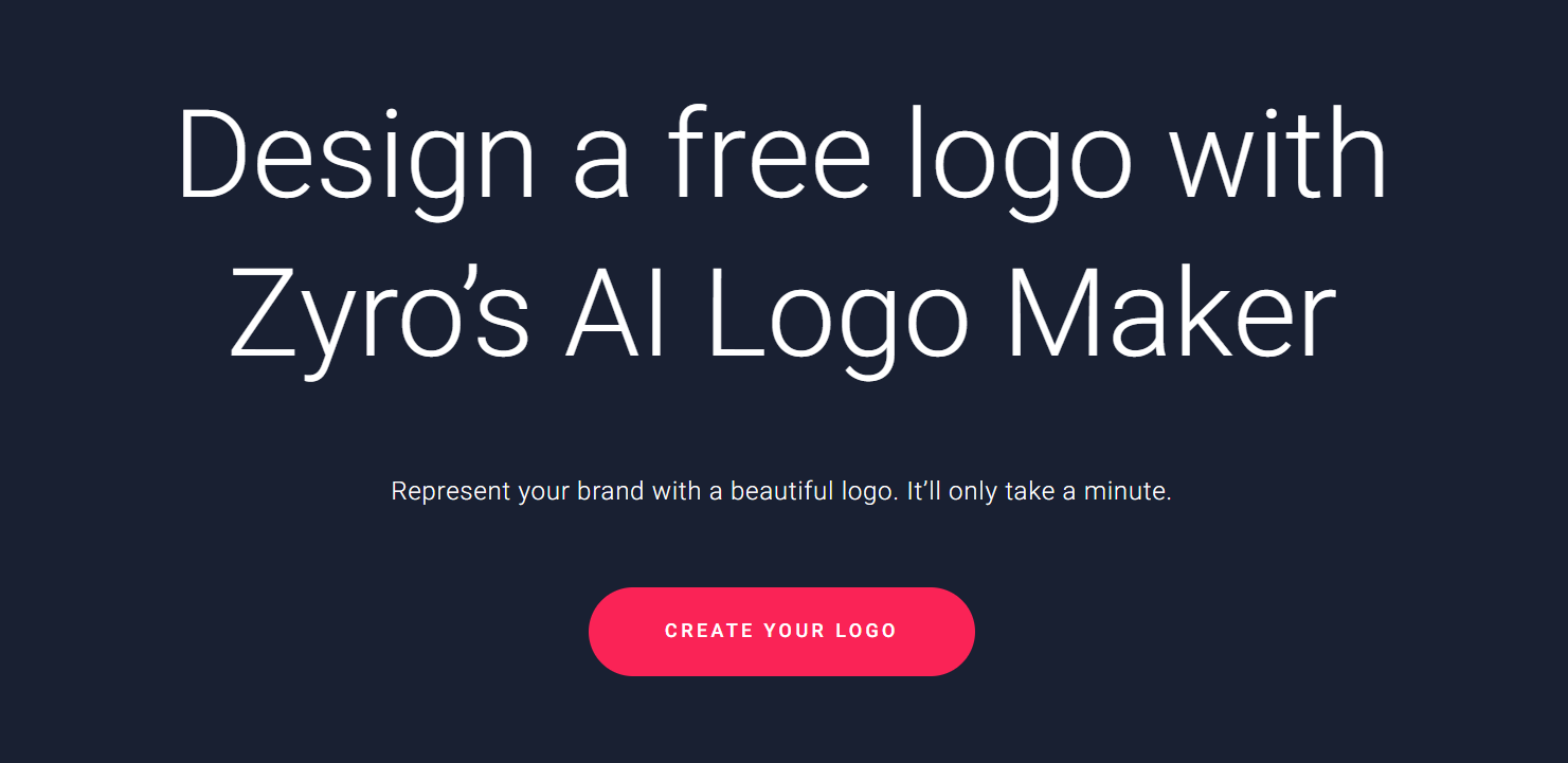 Zyro-Free-Logo-Maker-–Best Websites-Tools to Create Free Logo for Your Business